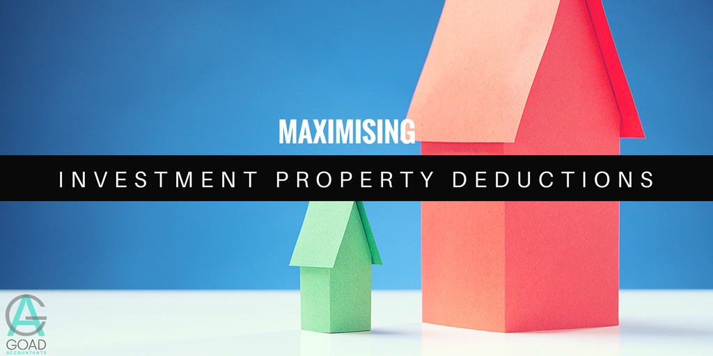 Investment property tax deductions