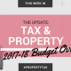 Property Investors Budget Update