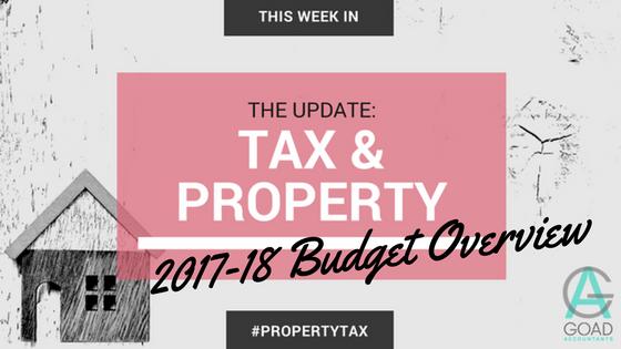 Property Investors Budget Update